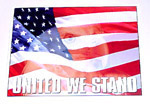 1971 Metal sign, United We Stand