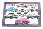 1936 Metal sign, Chevy Trucks tribute
