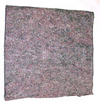1943 Felt underlay pad, approx. 54 inches by 36 inches