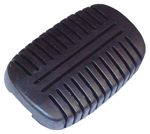 1958 Pedal pad for brake or clutch pedal