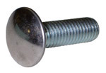 1937 Bumper bolt only, rounded stainless steel cap