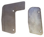 1951 Firewall to fender filler plates, Pickups