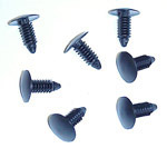 1964 Firewall cover fasteners, 7 plastic