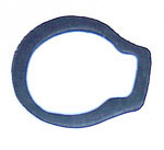 1963 Glovebox lock gasket