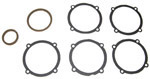1937 Universal joint housing and bell gaskets, 1/2 ton