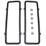 1976 Side cover (push rod) gasket set, Chevrolet