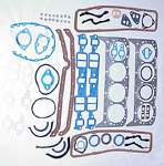 1969 Full engine gasket set, 327 V8 engine