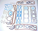 1970 Full engine gasket set, 350 V8 engine
