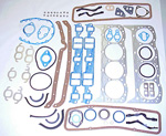1969 Full engine gasket set, 396 V8 engine