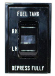 1985 Gas tank selector switch, carborated gas engine