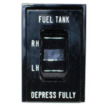 1986 Gas tank selector switch, Diesel 6.2L engine