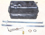 1971 Gas tank kit, 21 gallon polyethylene gas tank