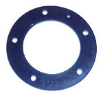 1938 Rubber flat gasket for gas tank sending unit, reproduction