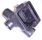 1969 Air conditioning and heater distribution valve assembly