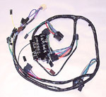 1966 Main Under Dash wiring harness, all w/gauges