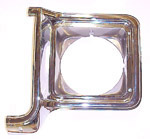 1978 Headlight bezel, left