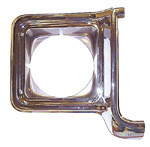 1975 Headlight bezel, right