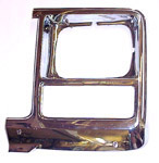 1980 Headlight bezel, left