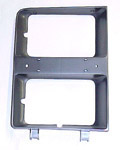 1983 Headlight bezel, left
