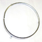 1966 Headlight sealed beam retainer rim, round