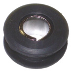 1966 Shift rod grommet, with metal lining
