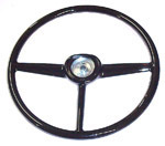 1952 Steering wheel, black