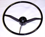 1958 Steering wheel, black