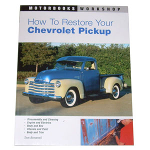 1949 How to restore your Chevrolet Pickup book