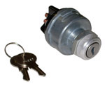 1946 Ignition switch, lock cylinder and 2 keys