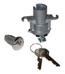 1949 Ignition switch, lock cylinder and 2 octagon head GM keys