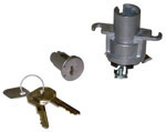 1949 Ignition switch, lock cylinder and 2 plain keys