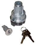 1969 Ignition switch, lock cylinder and 2 keys