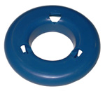 1970 Shaped spacer, blue