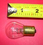 1953 Dome light bulb, 15 candle power