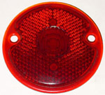 1949 Taillight lens, round