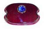 1947 Taillight lens, oval