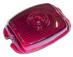 1944 Taillight lens, red