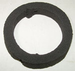 1954 License lamp lens gasket, rear