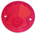 1954 Taillight lens, red
