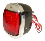 1940 Taillight assembly, LEDs with black body
