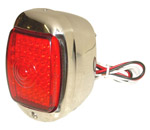 1942 Taillight assembly, LEDs with stainless steel body