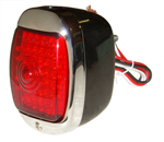1948 Taillight assembly, LEDs with black body