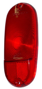 1956 Taillight lens, oval