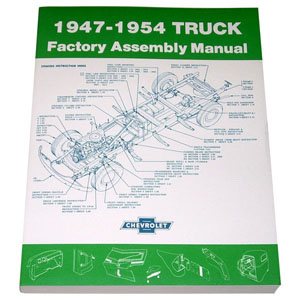 1953 Factory assembly manual, Chevrolet