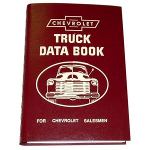 1949 Salesman data book, Chevrolet
