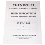 1936 Casting number guide copy
