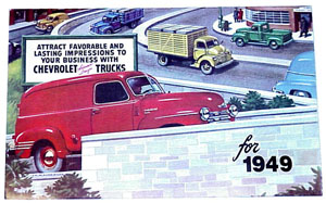 1949 Sales brochure, Chevrolet