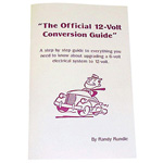 1953 The Official 6 Volt to 12 Volt Conversion Guide book, includes bulb interchange numbers