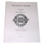 1949 Radio service and shop manual originally for 1951, Chevrolet