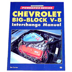 1976 Chevrolet big block V8 interchange manual